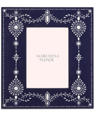 """Marchesa by Lenox 5"""" x 7"""" Empire Pearl Picture Frame"""