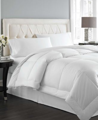 Charter Club Vail Level 2 European White Down King Comforter, Light Warmth Hypoallergenic UltraClean Down, Only at Macy's