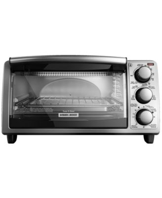 black & decker toaster oven manual