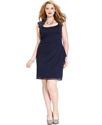 plus length dresses excessive low