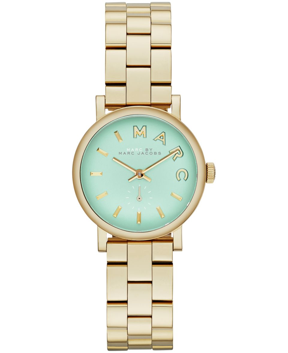 kate spade new york Watch, Womens Carousel White Enamel and Gold Tone Stainless Steel Bangle Bracelet 16mm 1YRU0048   Watches   Jewelry & Watches