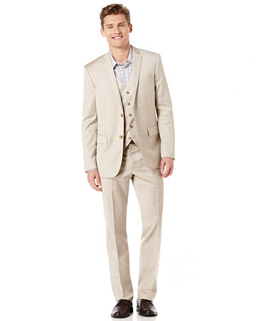 Perry Ellis Linen Suit Men Macy S