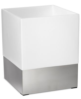Roselli Trading Company Polished Stainless Steel Suite Room Trash Can