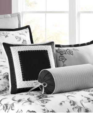 Closeout! Martha Stewart Collection Dusk Blossom 3 Piece Decorative Pillow Set Bedding