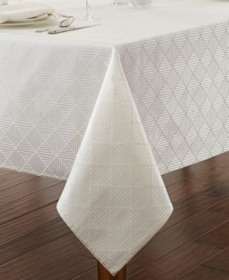 "Waterford Stella 70"" x 104"" Tablecloth"