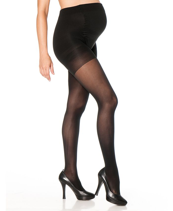 Motherhood Maternity - Opaque Light-Compression Maternity Tights