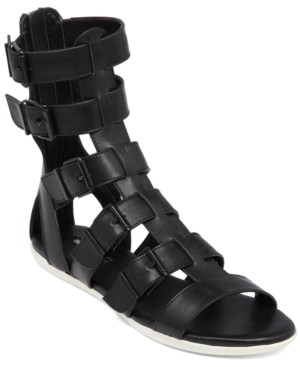 BCBGeneration Stanley Caged Flat Sandals Women's Shoes
