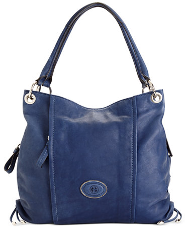 Giani Bernini Handbag Collection Leather Top Zip Bag