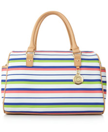 Tommy Hilfiger Striped Satchel