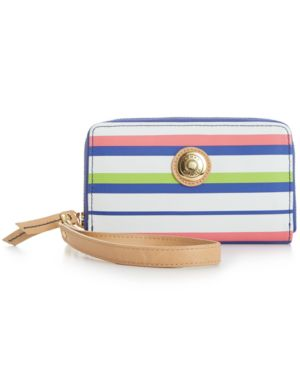 Tommy Hilfiger Mother's Day Striped Carryall Wristlet