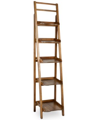 Lovell Leaning Etagere Bookcase, Direct Ship