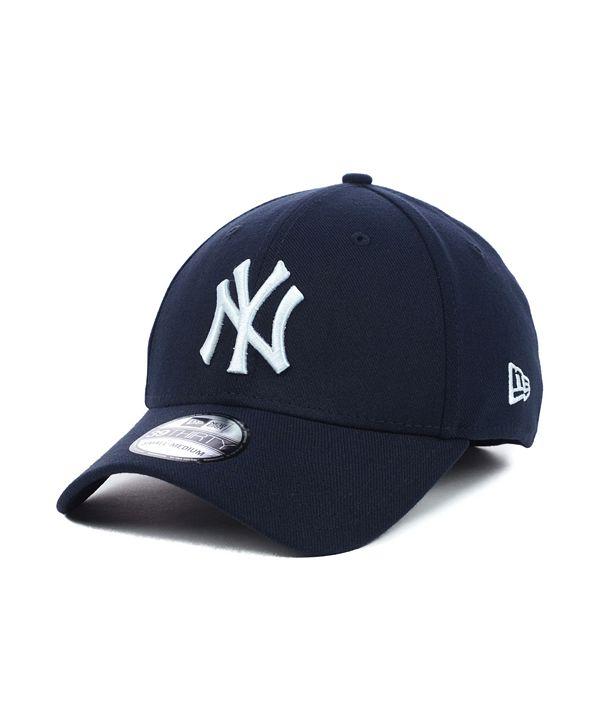 New Era New York Yankees MLB Team Classic 39THIRTY Stretch-Fitted Cap