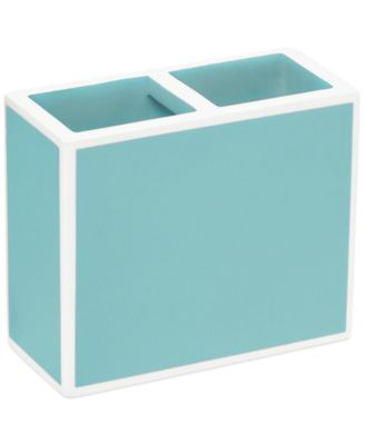 CLOSEOUT! Kassatex Bath Accessories, Blue Soho Toothbrush Holder