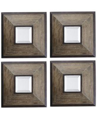 Uttermost Fendrel Mirrors, Set of 4