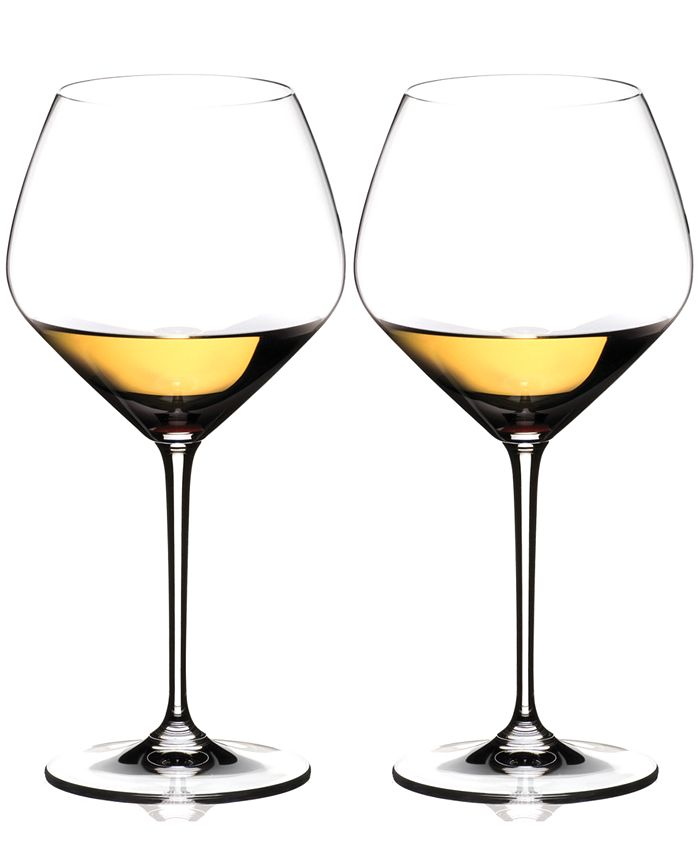 Riedel - Set of 2 Heart to Heart Chardonnay Glasses