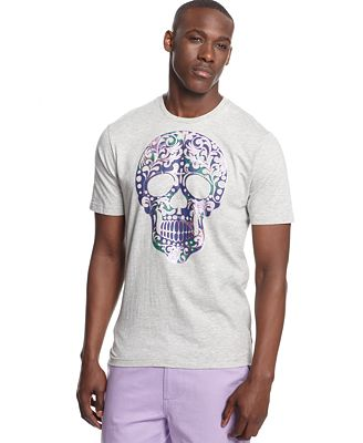 Sean john skull t shirt t shirts men macy 39 s for Sean john t shirts for mens