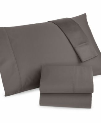 Charter Club Damask Solid 500 Thread Count Pima Cotton Twin Sheet Set, Only at Macy's