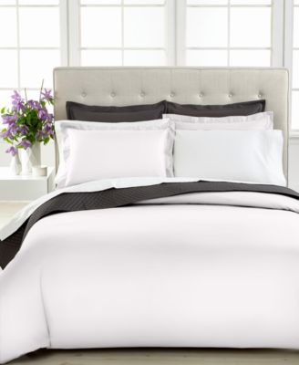 Charter Club Damask Solid 500 Thread Count Full/Queen Duvet Cover