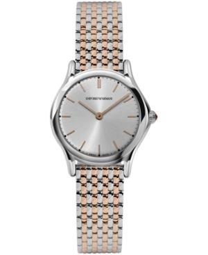 Emporio Armani Women's Swiss Two-Tone Stainless Steel Bracelet Watch 28mm ARS7001