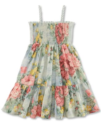 Little Girls' Floral Dress