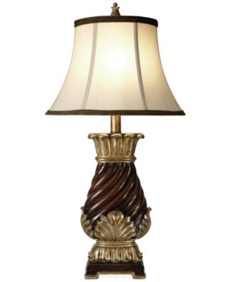 StyleCraft Walnut Ridge Finish Table Lamp