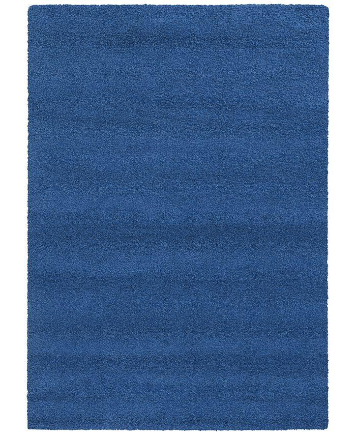 "PANTONE UNIVERSE (TM) - PANTONE UNIVERSE ™  Focus True Blue 5'3"" x 7'6"" Area Rug"