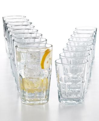 The Cellar 16 Piece Elena Glassware Set