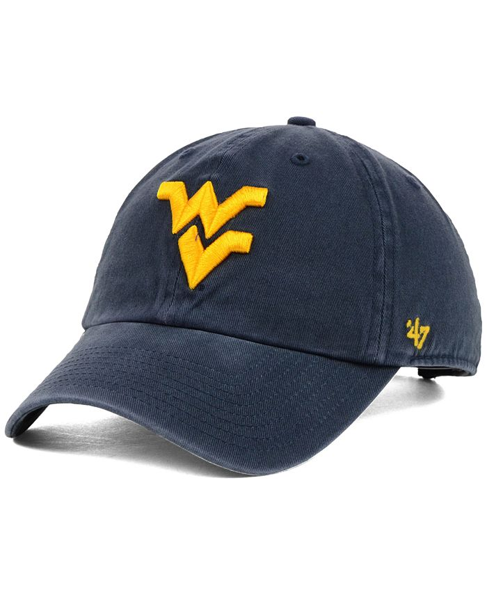 '47 Brand - West Virginia Mountaineers NCAA Clean-Up Cap