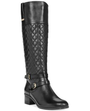 Bandolino Claraa Tall Riding Boots - A Macys Exclusive Womens Shoes