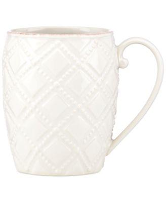Lenox French Perle Trellis Mug