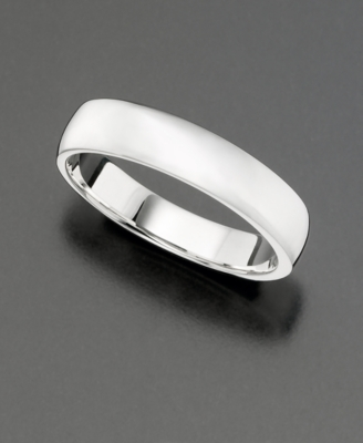 Sterling Silver Smooth Band Ring