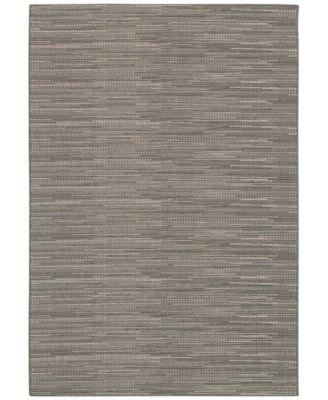 """Couristan Indoor/Outdoor Area Rug, Monaco 2471/2044 Larvotto Grey-Multi 2' x 3'7"""""""