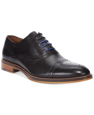Johnston & Murphy Men's Conard Cap-Toe Oxfords Men's Shoes