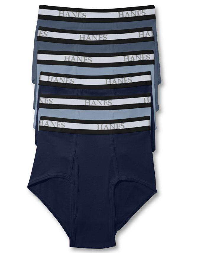 Hanes - Men's Underwear, Dyed Brief 6 Pack