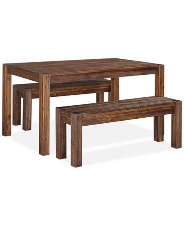 Avondale 3 Piece Dining Room Furniture Set Furniture Macy 39 S