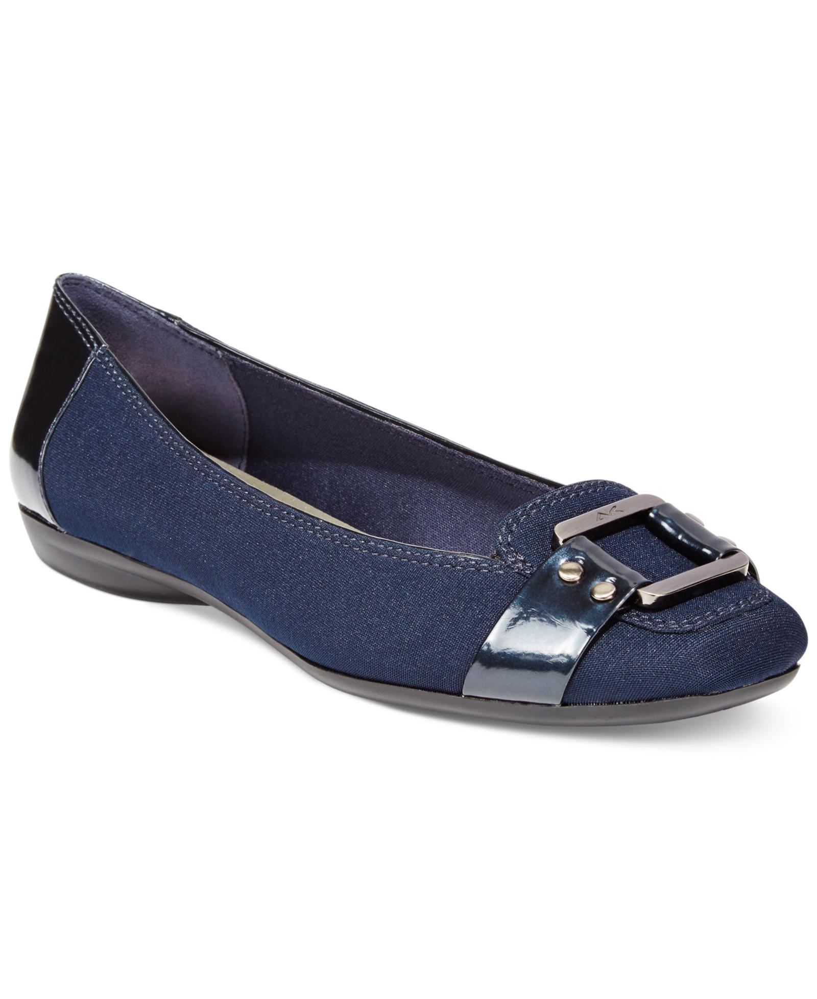 b0e72f3d44d Ak Anne Klein Sport Underpin Flats Women s Shoes