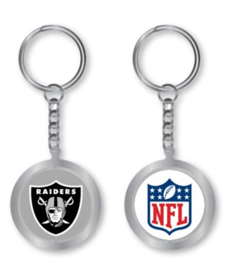 Aminco Oakland Raiders Spinning Keychain