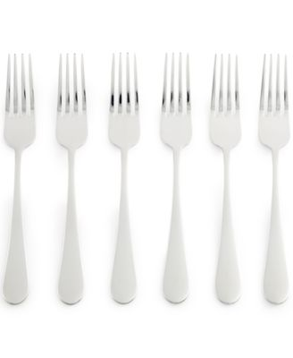 Martha Stewart Collection Everyday Entertaining Bartlett Set of 6 Dinner Forks