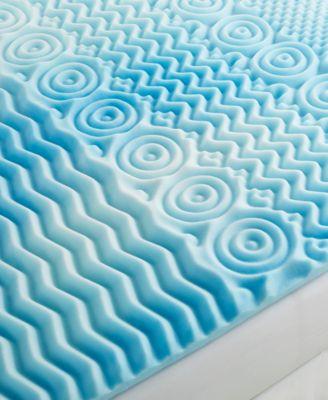 CLOSEOUT! Comfort Rx 5 Zone 3'' Foam King Mattress Topper