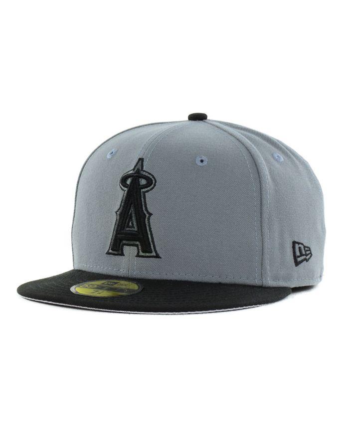 New Era - Los Angeles Angels of Anaheim FC Gray Black 59FIFTY Cap