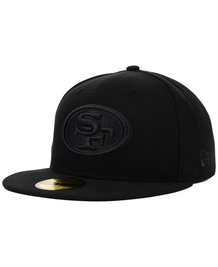 New Era - San Francisco 49ers NFL Black on Black 59FIFTY Cap