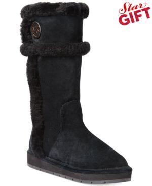 Michael Michael Kors Winter Tall Boots Womens Shoes