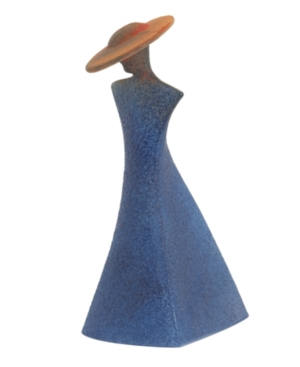 "Kosta Boda ""Catwalk"" Madame Sculpture, 7.35"""