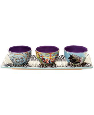 Tracy Porter Rose Boheme 4-Piece Serving Set