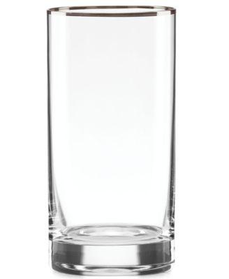 Lenox Timeless Platinum Highball Glass