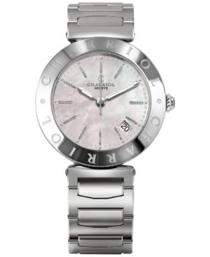 Charriol Women's Swiss Alexandre C Steel Bracelet Watch (34mm)