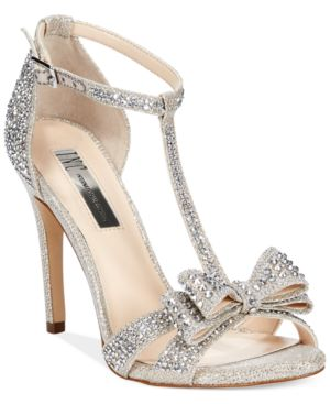 Inc International Concepts Women's Reesie Rhinestone Bow Evening Sandals, Only at Macy's Women's Shoes thumbnail