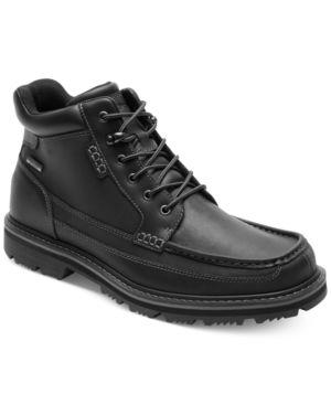Rockport Gentleman's Waterproof Moc Toe Mid Boots Men's Shoes