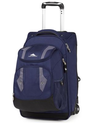 High Sierra Adventure Access Carry On Rolling Backpack