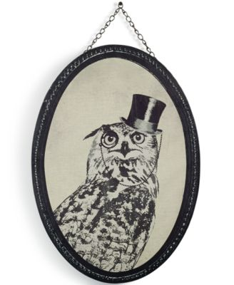 Graham and Brown Oswald Owl Wall Art